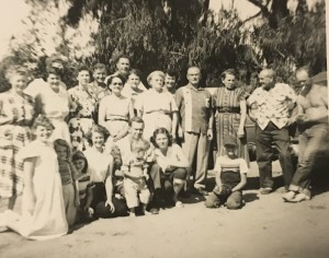 Guild Family Reunion About 1955