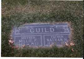 Nathan Guild & Millie Massey gravestone